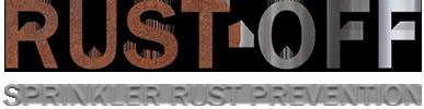 rust-off sprinkler rust prevention logo